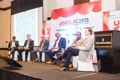 CAF reporting on geothermal discussions at the GEOLAC event in November 2015